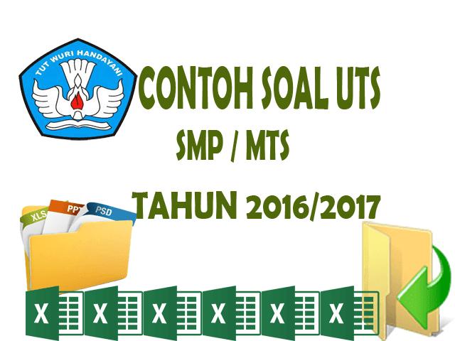 Download Contoh Soal UTS SMP/MTs Siap Cetak Format Words.Doc