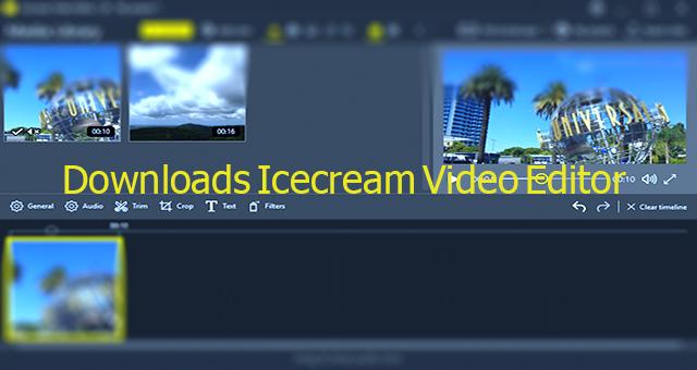 Downloads Icecream Video Editor