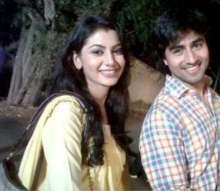 Foto Harshad Chopda dengan mantan pacarnya, Sriti Jha