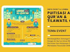 Lomba Puitisasi dan Tilawatil Al-Qur'an Online - HMJIAT IAIN Lhokseumawe