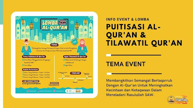 info event dan lomba november