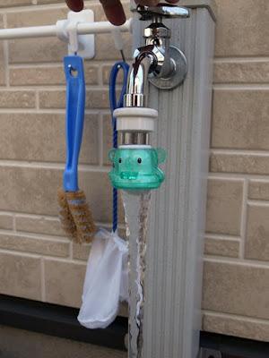 LIXIL(リクシル) INAX 横水栓・ 2ハンドル混合水栓用自動接手ASSY A-1897 + プチくりん
