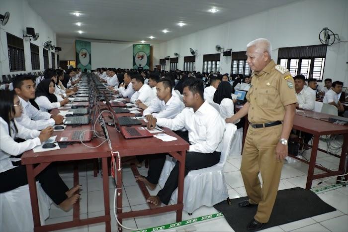 H Surya BSc secara Resmi buka Pelaksanaan Ujian CPNS di Kabupaten   Asahan
