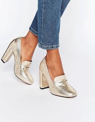 Zapatos de Tacon Bajo elegantes