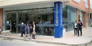 Oficinas Colpensiones en Bogota