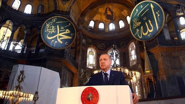 Erdogan: Turki Tak Akan Tunduk kepada Kekuatan Apapun Selain Allah