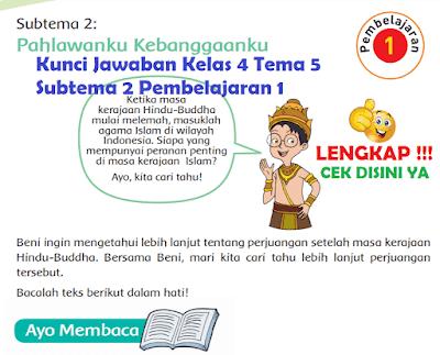 Kunci Jawaban Kelas 4 Tema 5 Subtema 2 Pembelajaran 1 www.simplenews.me