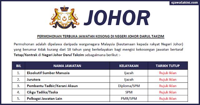johor job vaccancy