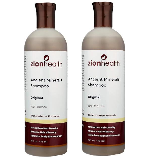4- Zion Health Adama Clay Minerals Shampoo