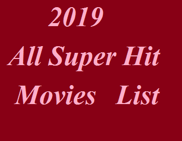 2019 Movies List