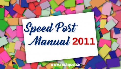 Speed Post Manual 2011 image