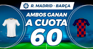 Paston Megacuota Clasico Real Madrid vs Barcelona 1 marzo 2020