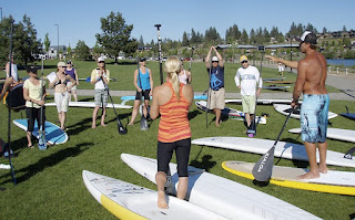 Stand Up Paddle Lesson, Bend, Oregon