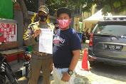 Satpol-PP Kelurahan Angke Gelar Operasi Patuh Masker