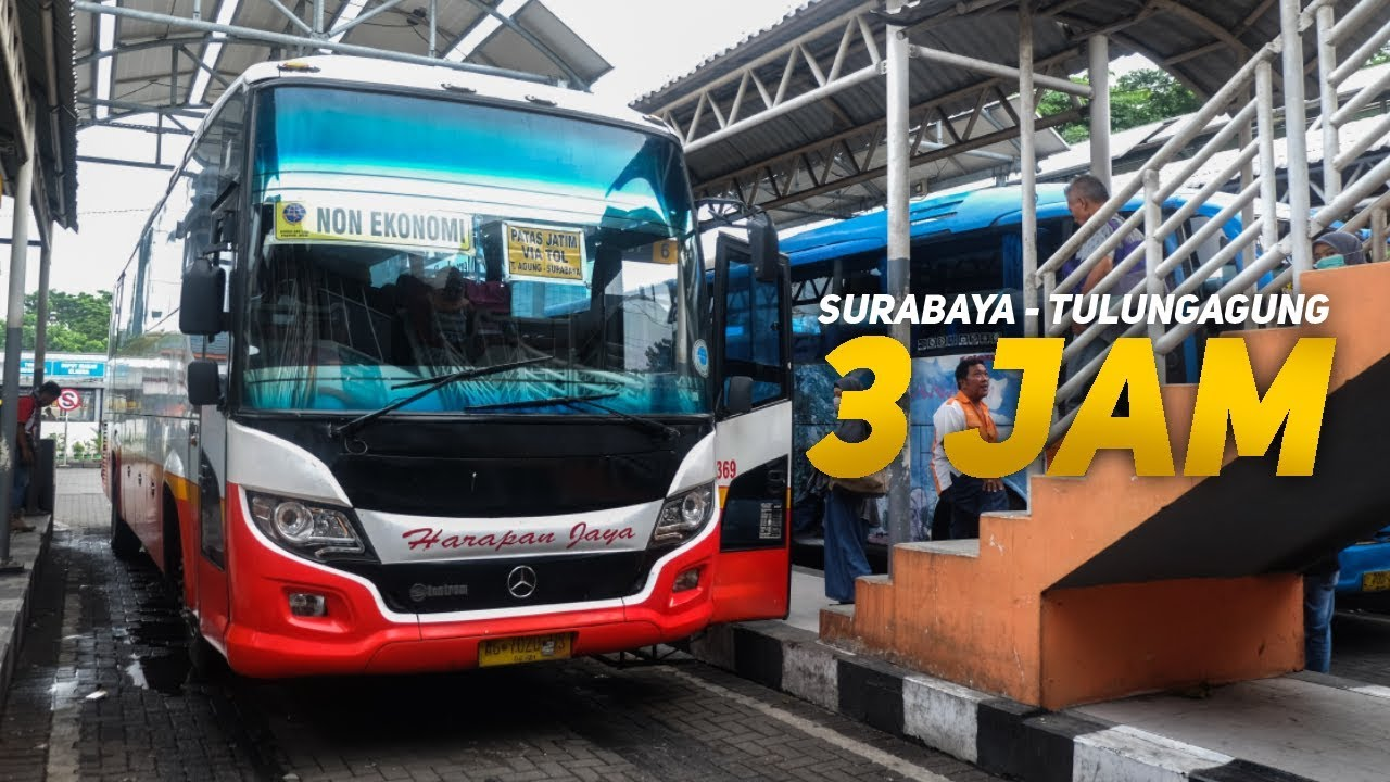 Jadwal Keberangkatan PATAS Harapan Jaya Via Toll Kertosono - Surabaya