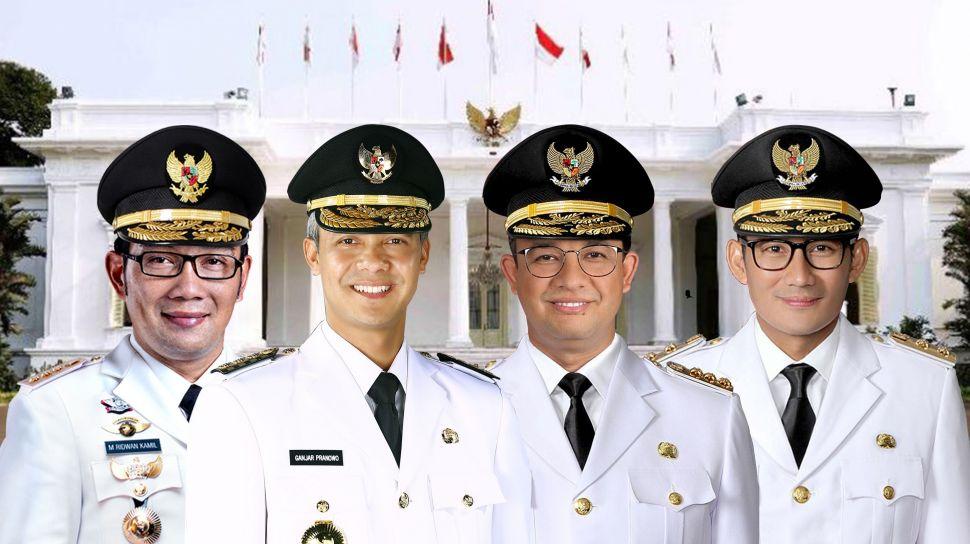 Pilpres 2024 Diprediksi Milik Menteri Jokowi dan Kepala Daerah