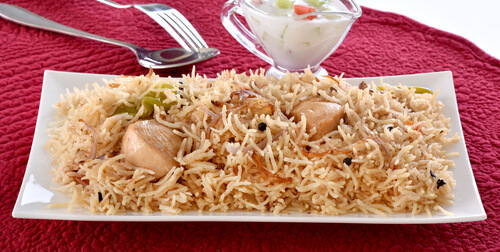 Easy and Delicious Chicken pulao recipe at Home