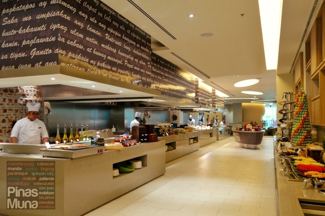 Food Exchange Novotel Manila Araneta Center