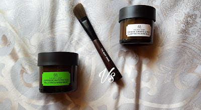 the body shop, selfie, mask selfie, mask, matcha, matcha tea, matcha tea mask, matcha mask, review, mask review, cruelty free, vegan, skincare, beauty, beauty blog, beauty blogger, Japanese matcha tea, beauty review, facial, mask pictures, zainab dokrat, beauty with zainy