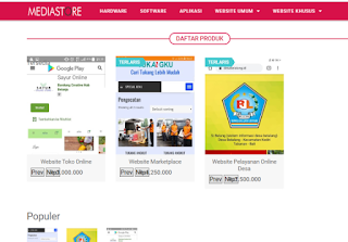 bikin website umkm