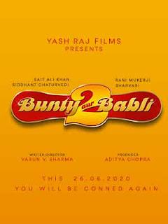 Bunty Aur Babli 2 First Look Poster