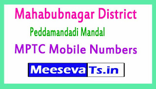 Peddamandadi Mandal MPTC Mobile Numbers List Mahabubnagar District in Telangana State