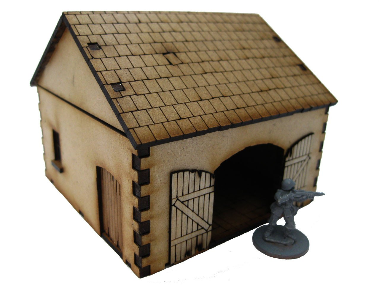 The Tactical Painter: Building a 1940s French garage