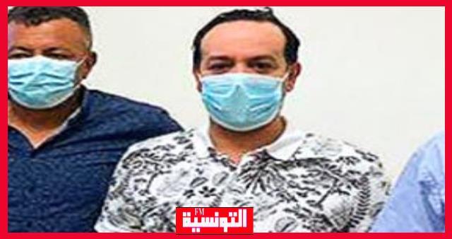 علاء الشابي يجري تحليل عاجل ضد كورونا