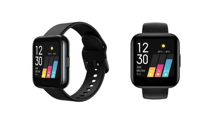 Realme lanzó un smartwatch con una pantalla táctil de color