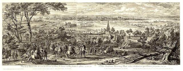 Siège de Lille par Louis XIV en 1667