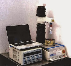 Magnetic fluid test setup using the TA.XTplus texture analyser