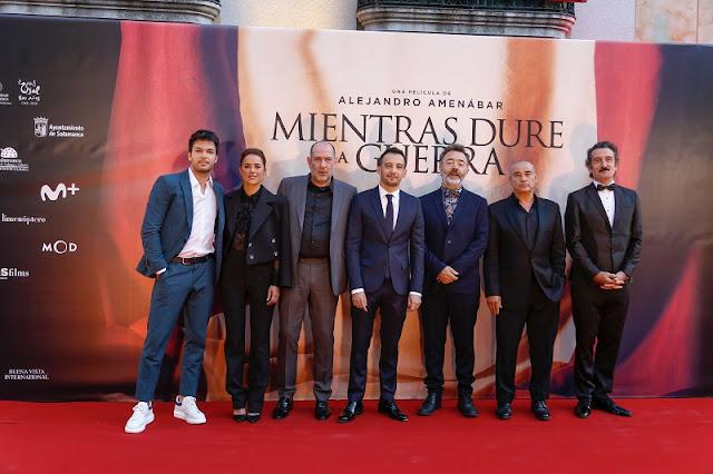 Carlos Serrano-Clark, Patricia López, Karra Elejalde, Alejandro Amenábar, Santi Prego, Eduard Fernández Luis Zahera