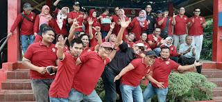 Meriah, Walkot Padang dan Jajaran Dewan Suport IKW-RI Sumbar