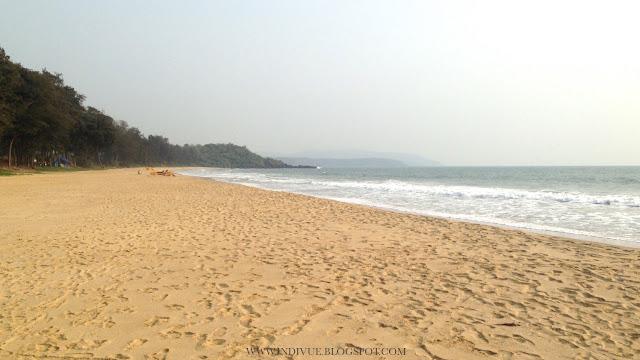 Talpona Beach, Goa, Intia, 2015