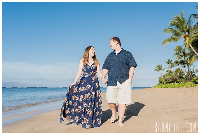 Maui Engagement Portrait