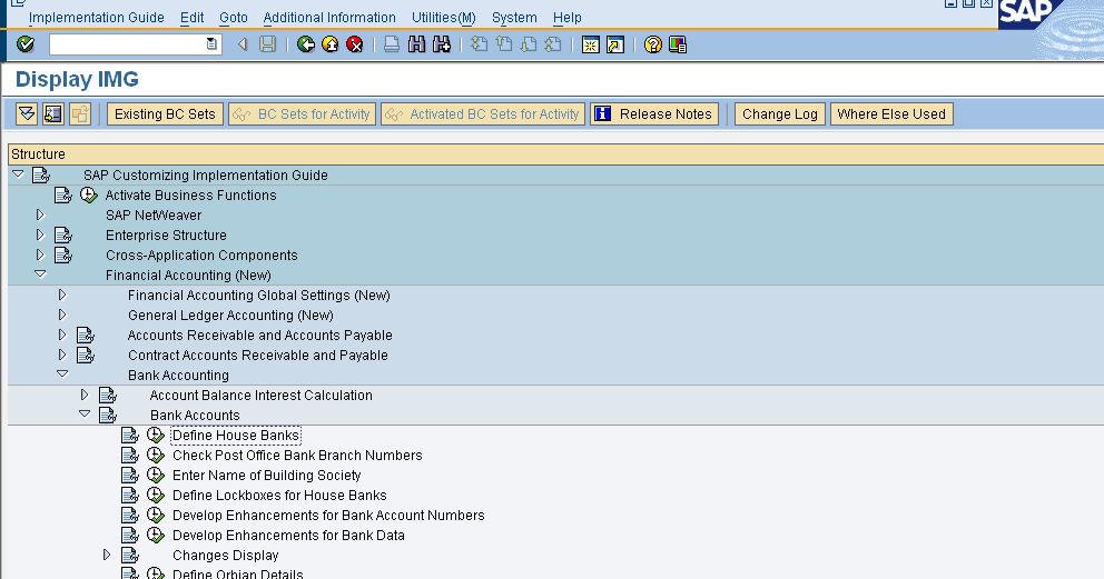 House Bank: Definition Of House Bank In Sap
