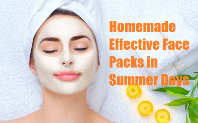 Homemade Effective Face Packs in Summer Days - NewsTrends