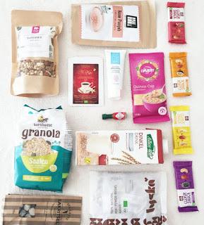 Alle Produkte der Vegan Box Classic