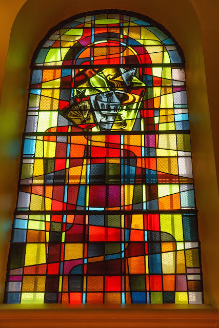 Vitrail de l'église St Jean Baptiste de Grenelle