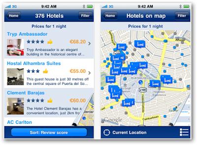 Las aplicaciones de viajes en tu dispositivo móvil