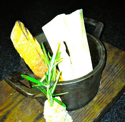 Moto marrow butter in cassoulet