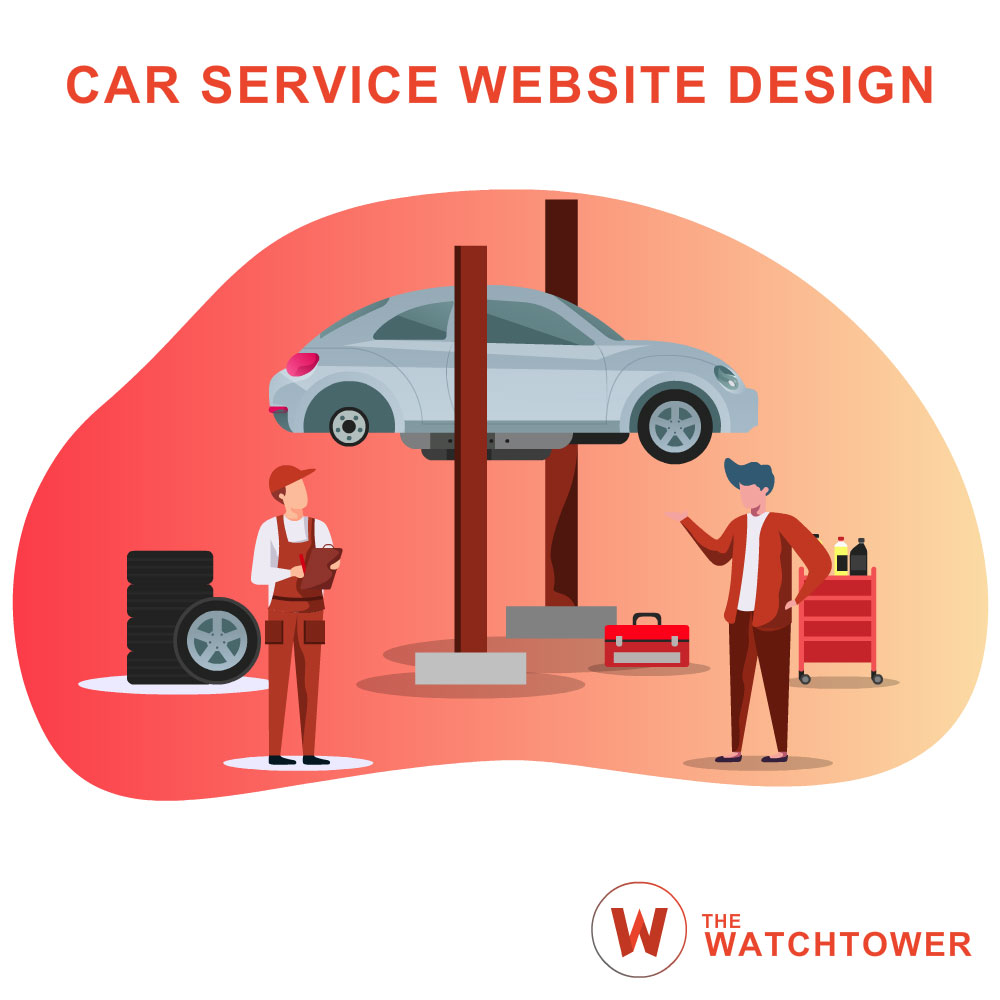 The Watchtower Car Service Website Design