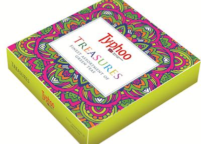Gree tea Treasures box