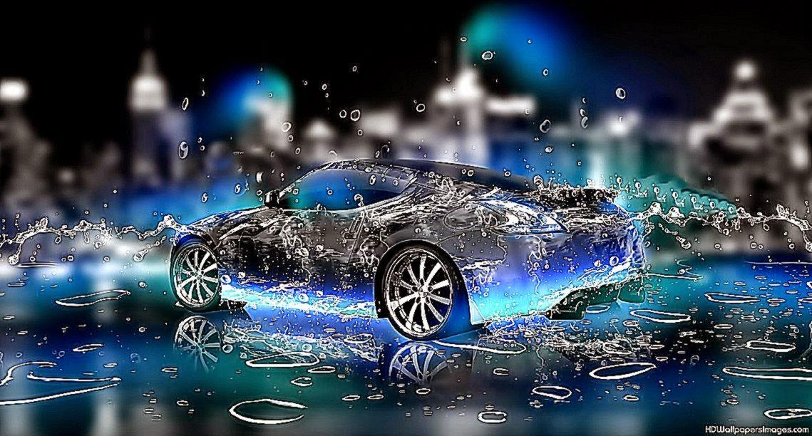 3D Wallpaper Widescreen Water Cars | All HD Wallpapers