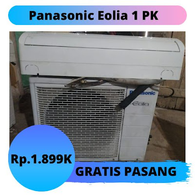 Jual AC Panasonic Eolia 1 PK Gratis Pemasangan