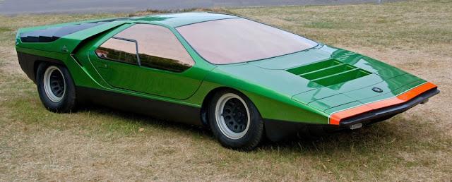 Alfa Romeo Carabo 1960s Italian concept car