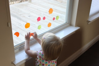 toddler activity window clings