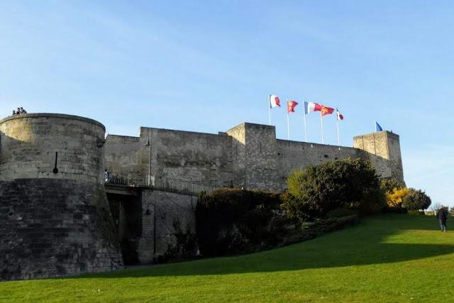 Paris to Normandy Road Trip: Château de Caen