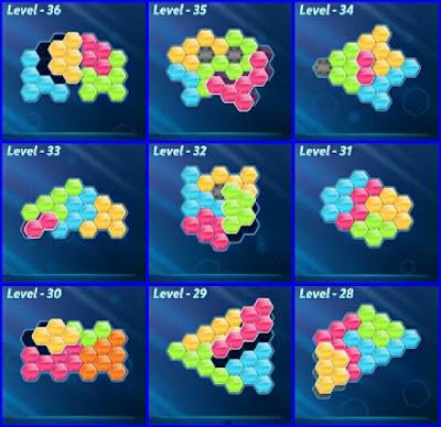 Block! Hexa Puzle Level 28-36