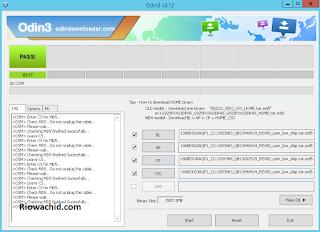 Cara Flash Samsung Galaxy V2 J106B Mudah Via PC